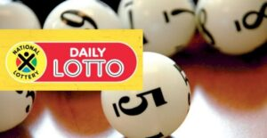 Фото шаров из Южно-Африканской лотереи  Daily Lotto